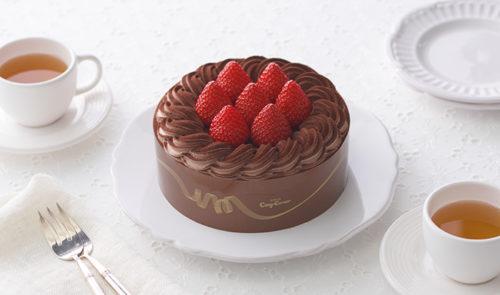 コージーコーナーのアレルギー対応チョコレートケーキ