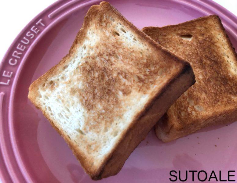 トースト出来上がり